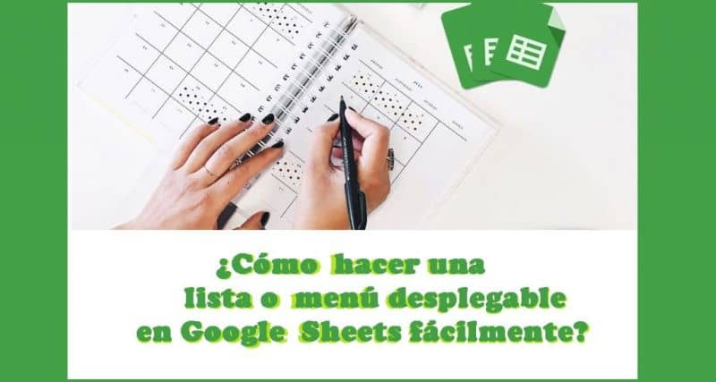 How to Make a List or Dropdown Menu in Google Sheets Easily (Example)