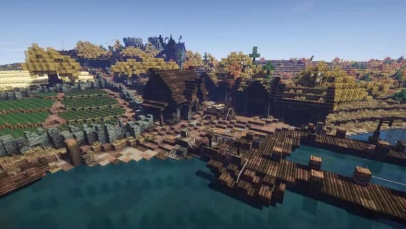 explore minecraft villages