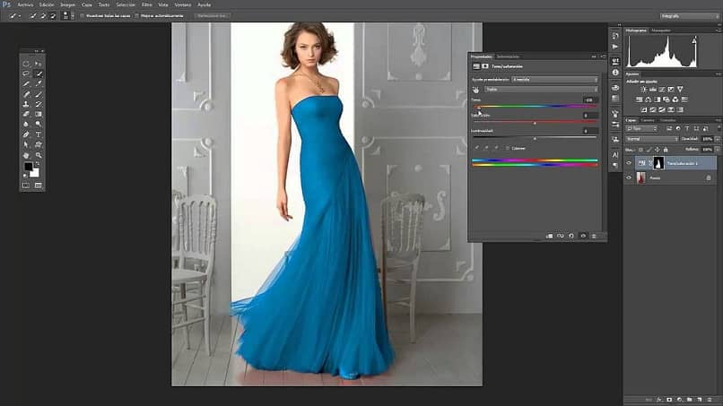 transparent clothing effect in Photoshop