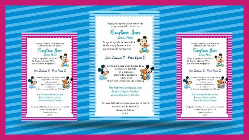 corel draw invitation