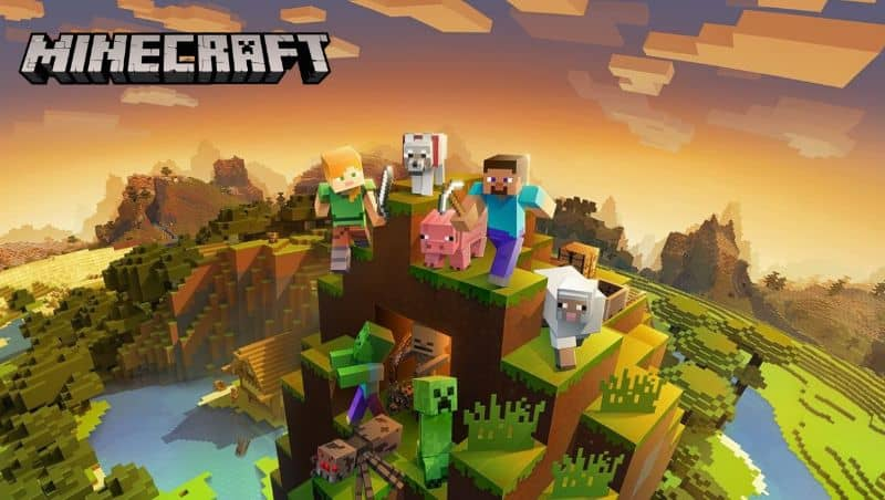 minecraft pc video game characters