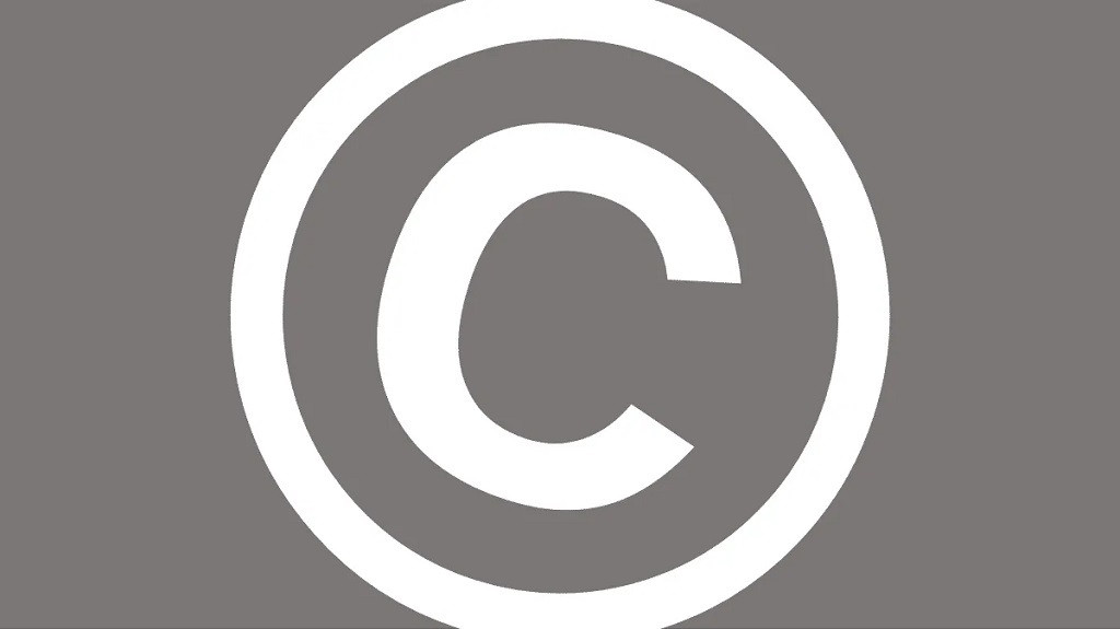 How to make and write the copyright symbol on a Mac or PC