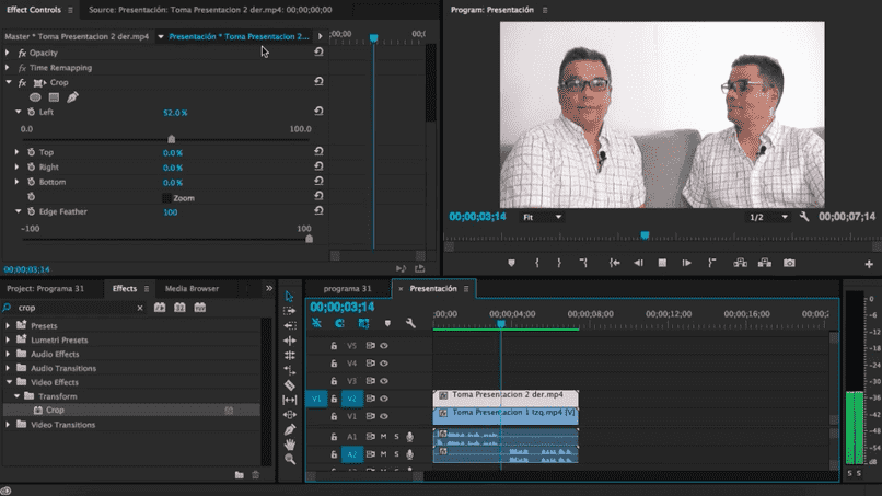 cloning effect premiere pro two equal men