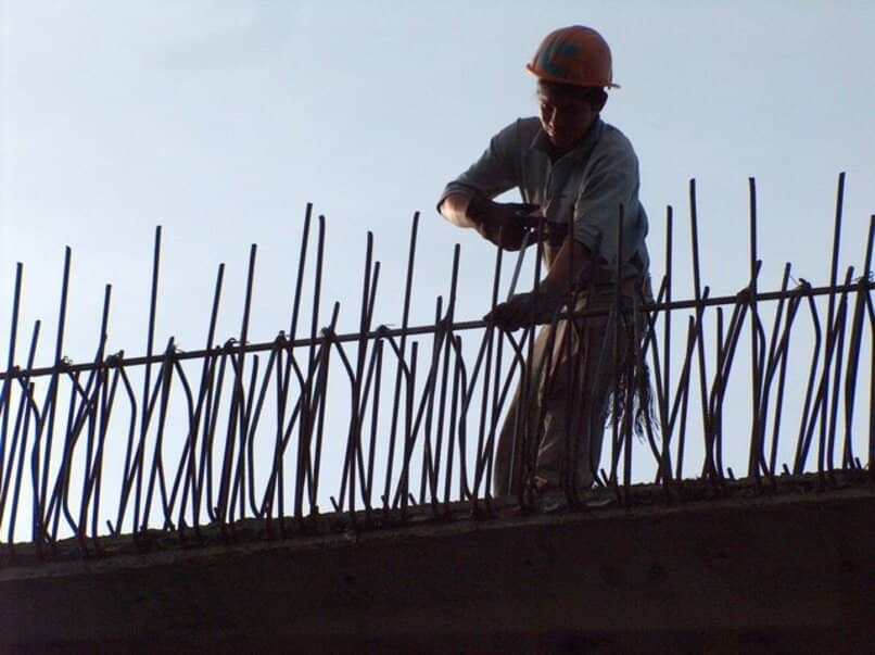 worker working on a construction