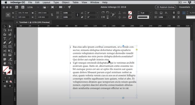 numbering paragraphs with adobe indesign
