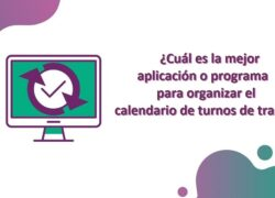 What is the Best Application or Program to Organize the Work Shift Calendar?