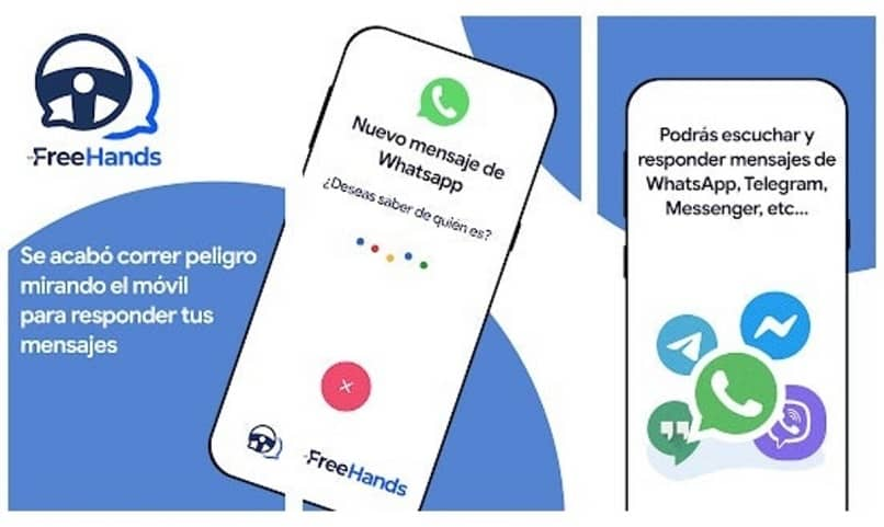 with this myfreehands application you can answer your messages