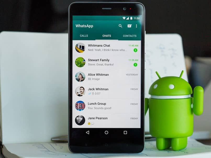 chat whatsapp android