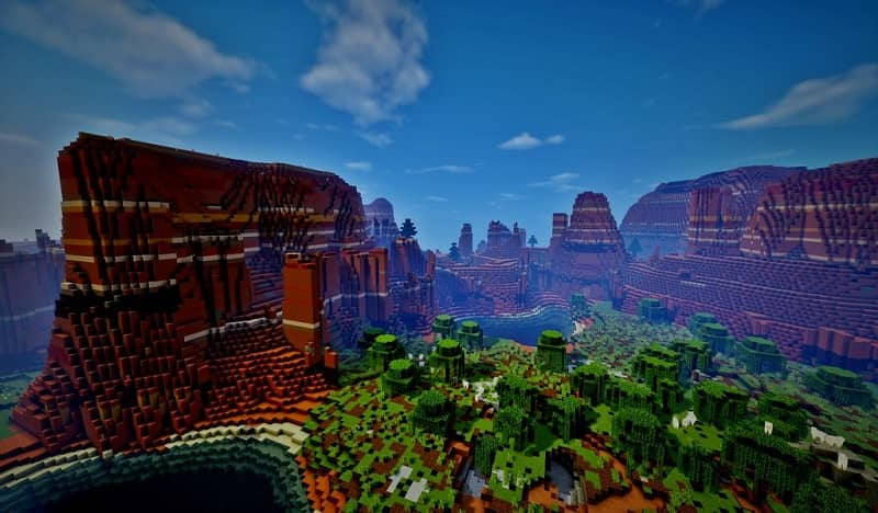Read a map in Minecraft to find treasure