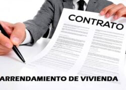 How to fill out a contract or application for a housing lease if I am a natural person