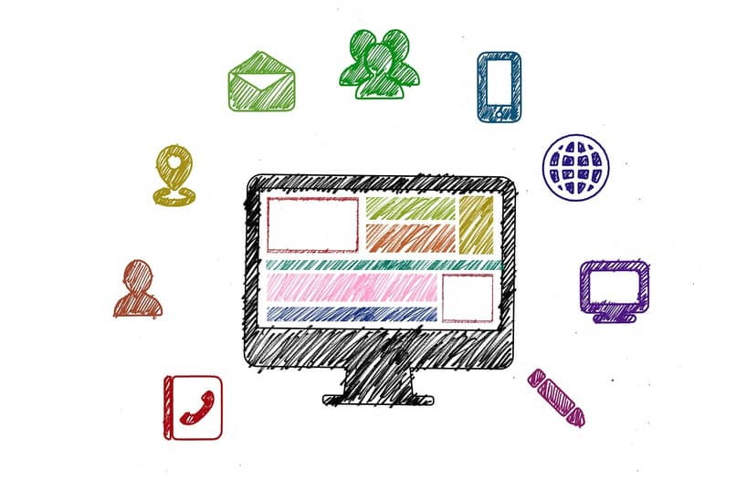 different computer applications