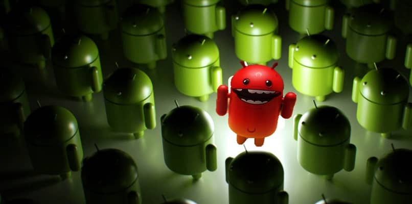 infected android robot