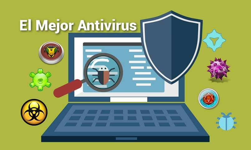 protect from threats with antivirus