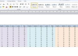 How to Copy a Table from Excel to Word Without It Moving