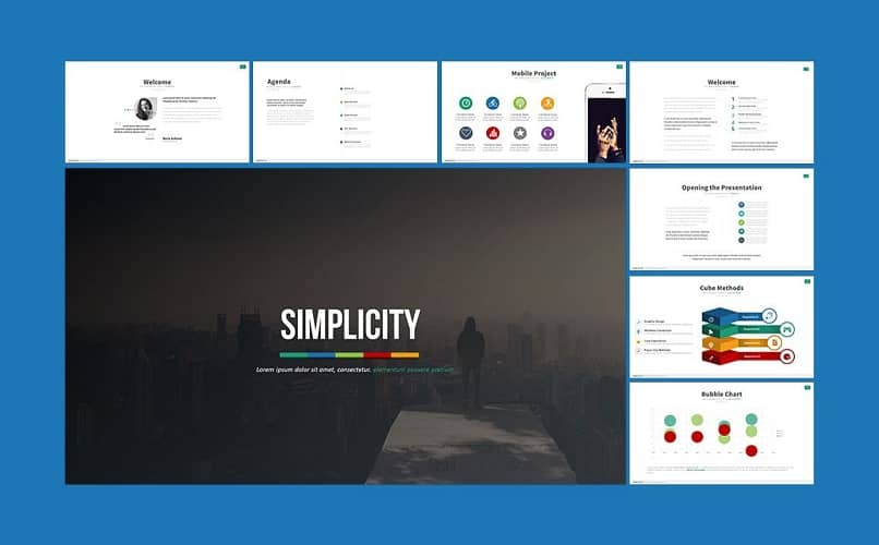 example of simplicity the application