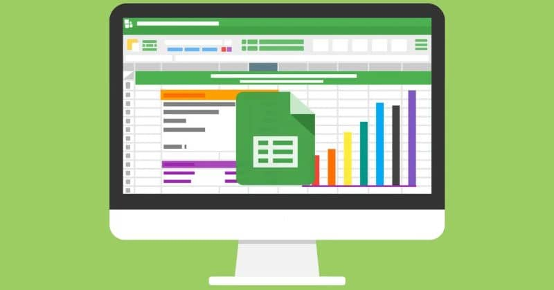 Google Sheets with on-screen graphics