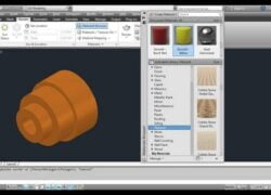 How to Insert and Apply Textures in AutoCAD step by step