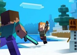 How to Play Multiplayer or with two People or more in Minecraft?  (Example)