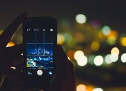 How to Take Good Night Photos with my Android Mobile Easily (Example)