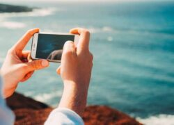How to take professional photos of people with my cell phone step by step