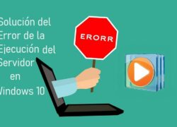 How to Fix Server Execution Error in Windows 10 (Example)
