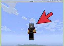 How to Fly or Stop Flying in Minecraft in Creative and Survival Mode (Example)