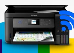 How to see if the printer is on the network and connected to my PC