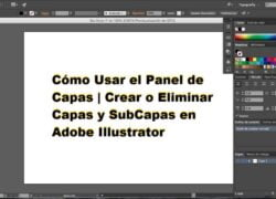 How to Use the Layers Panel |  Create or Delete Layers and SubLayers in Adobe Illustrator (Example)