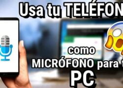 How to Use my iPhone or Android Cell Phone as a Microphone on my PC?  (Example)