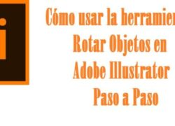How to use the Rotate Object Tool in Adobe Illustrator - Step by Step (Example)
