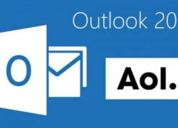 How to Receive and Send AOL Mail Emails in Outlook (Example)