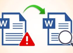 How to Recover a Damaged Word Online File or Document