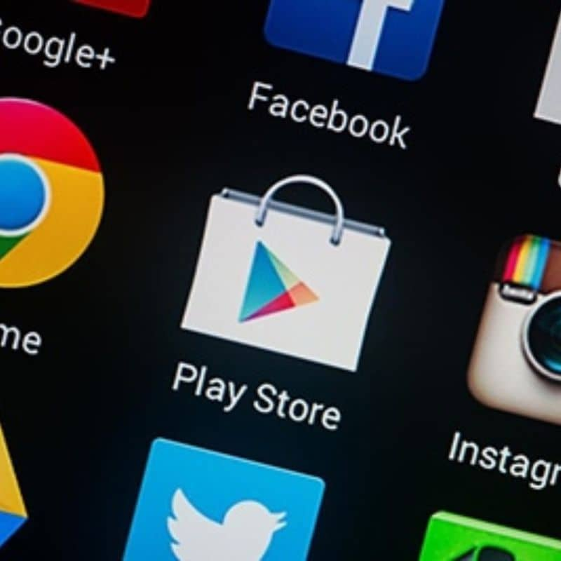 App Play Store on Android phone