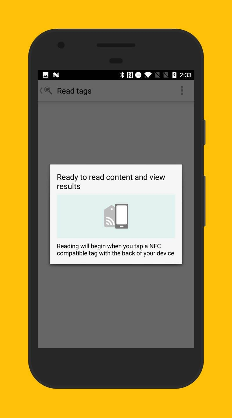 NFC card in Android mobile