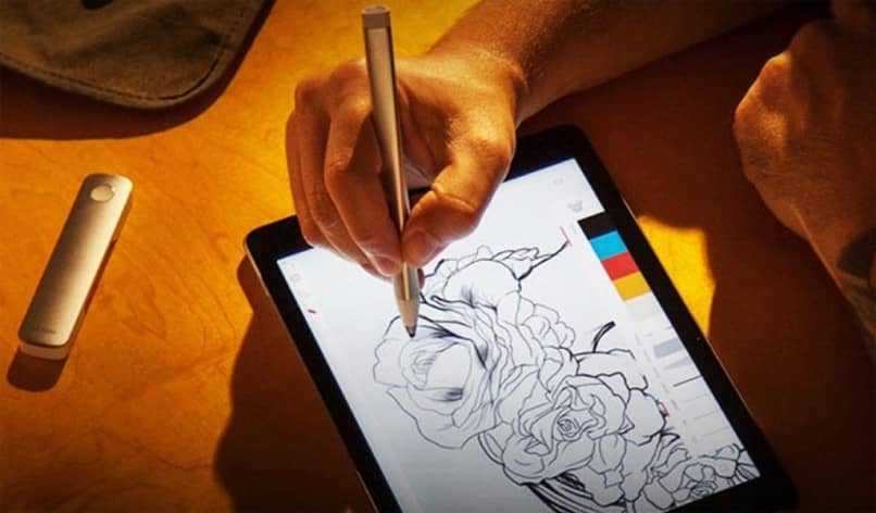 coloring on tablet apple