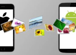 What are the best apps to share files between iPhone and Android?