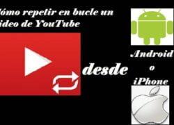 How to Loop a YouTube Video Automatically from Android or iPhone (Example)