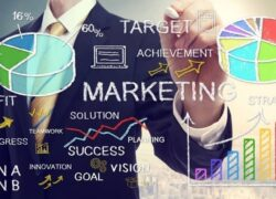 What is the relationship between 'Market Research' and 'Marketing Strategy'?