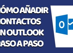 How to Add a Contact to my Outlook Email - Hotmail (Example)
