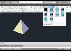 How to Change or Modify the Visual Style of Objects in AutoCAD - Step by Step