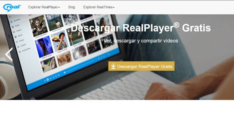 Real Player Website