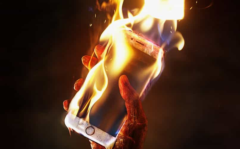 cell phone gets very hot download fast