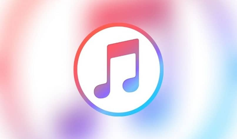 itunes icon with watercolor background