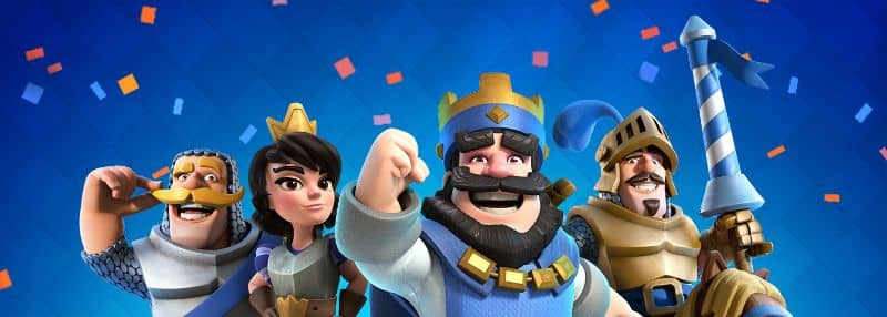 different clash royale characters