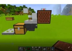 How to Build an Automatic Fishing Farm in Minecraft Very Easy!  (Example)