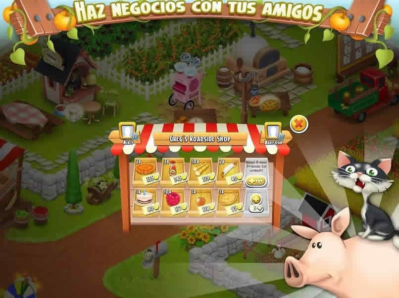 hay day do business with friends