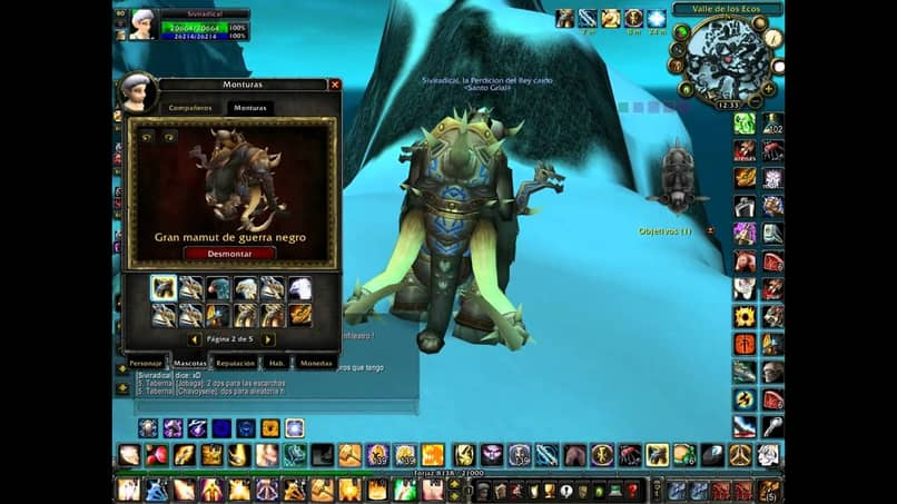 mammoth mount in wow