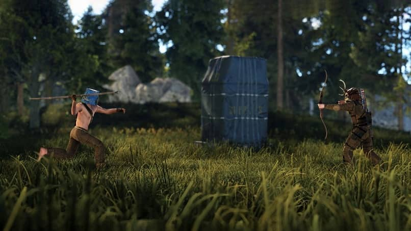 characters weapons face off survival rust