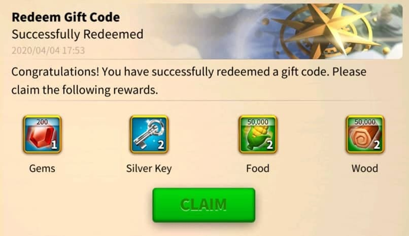 rise of kingdoms gift code