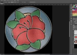 How to Convert Photos or Images Online to Make Stained Glass Designs?  (Example)